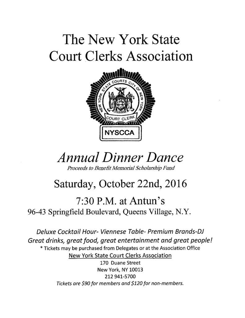 2016 Dinner Dance