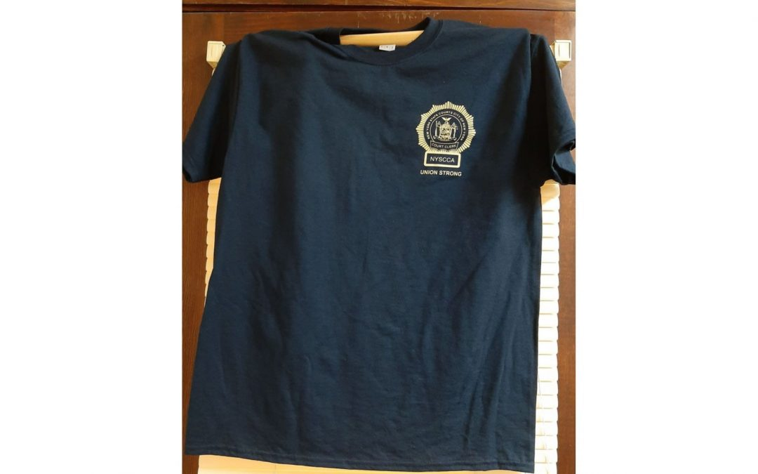New York State Court Clerk Union Strong T-Shirt